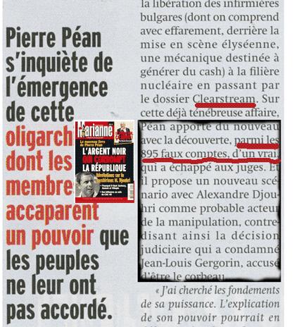 Présidentielles: le livre de Pierre Péan relance Clearstream II