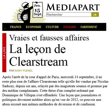 Clearstream II : le « J'accuse » d'Edwy Plenel