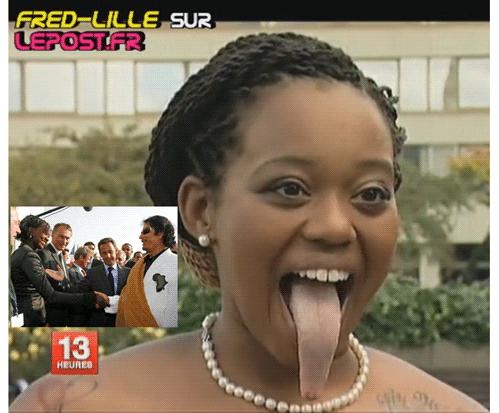 Exclusif : Rama Yade tire la langue à Sarkozy