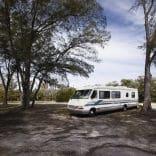 Les touristes nomades privilégient les camping-cars.