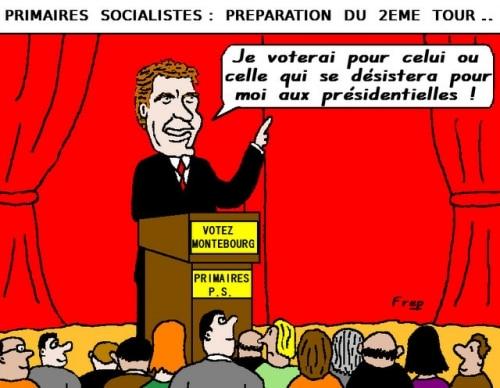 Primaires  socialistes :  préparation  du  2ème  tour . .