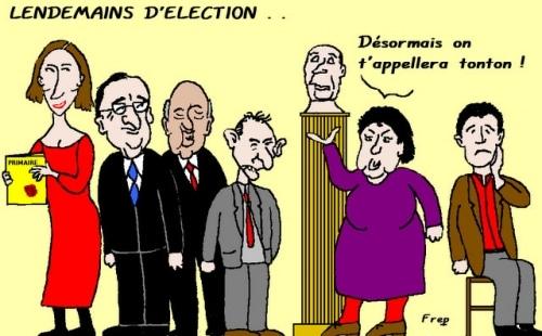 Lendemains  d'élection . .