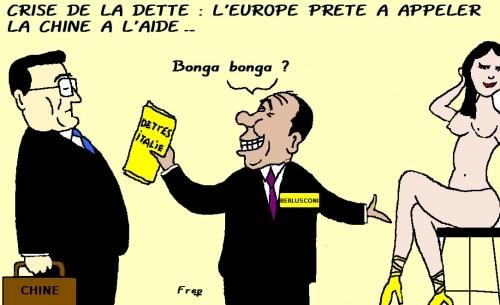 Crise de la dette :  l'Europe prête à appeler la Chine à l'aide !
