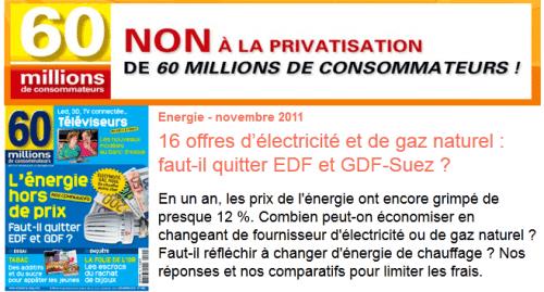 Eau, Énergie : toujours plus chères pour le consommateur