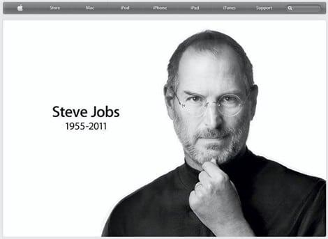 Steve Jobs, le fondateur d'Apple est décédé.