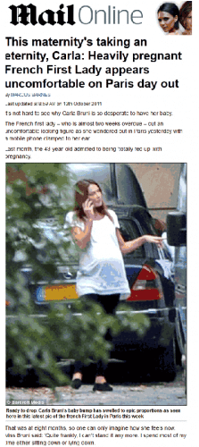 Carla Bruni (III) : doublée par Charlène de Monaco ?