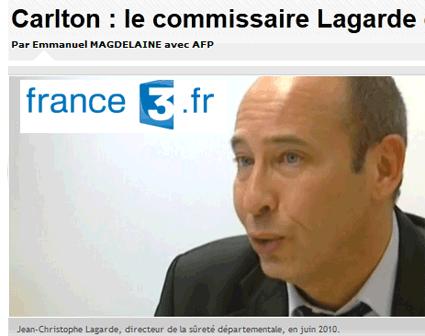 Prostitution au Carlton : J.-C. Lagarde en garde à vue