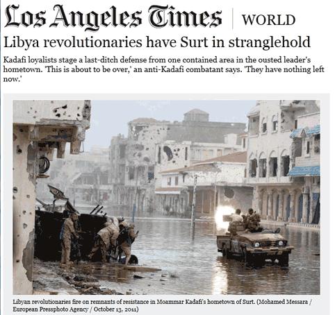 Libye : un insoutenable gâchis
