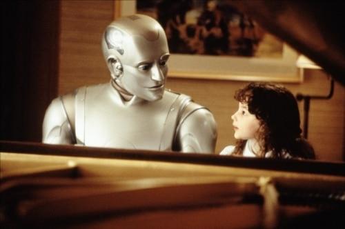 Le robot est l'avenir de l'homme.