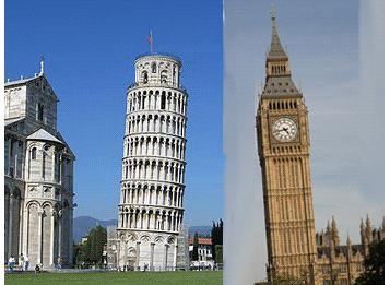 Big Ben penche vers la tour de Pise !