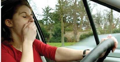 Une arme antisomnolence pour limiter les risques d'accidents.