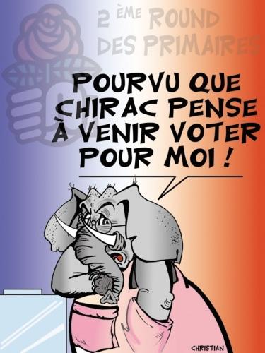 PRIMAIRES SOCIALISTES … Hollande inquiet pour le 2ème round !