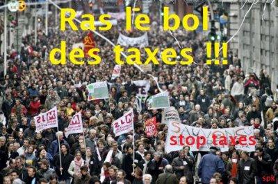 Les taxes et impôts encore et toujours !