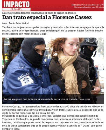 Florence Cassez : pressions sur la justice mexicaine ?