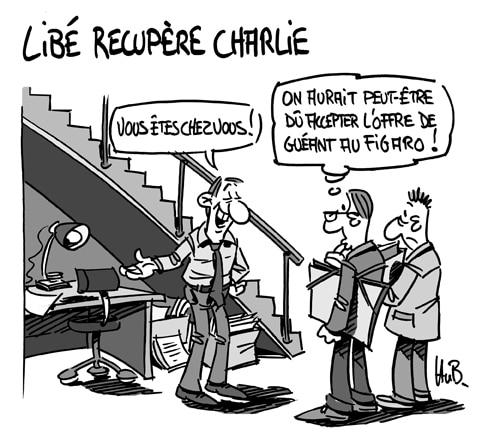 Libé récupère Charlie