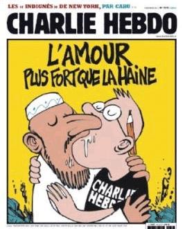 Charlie : Hebdo ; Mahomet : Homo