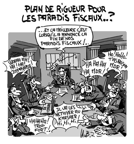 Plan de rigueur pour les paradis fiscaux..?
