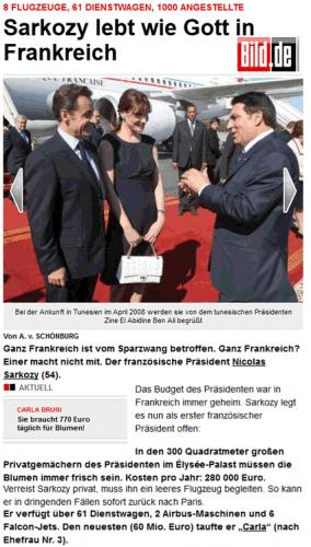 Vu d'Allemagne : Sarko le Grec