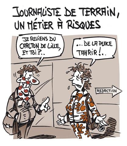 Journaliste de terrain, un métier à risques