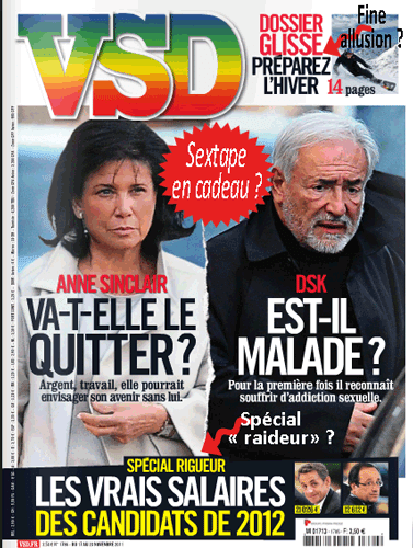 DSK,  « queutard compulsif »