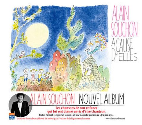 Alain Souchon, retour en enfance.