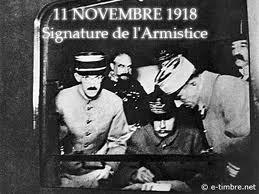 Le 11 novembre  : l'armistice