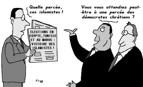 Elections en Egypte, Tunisie et au Maroc : percée des islamistes . .