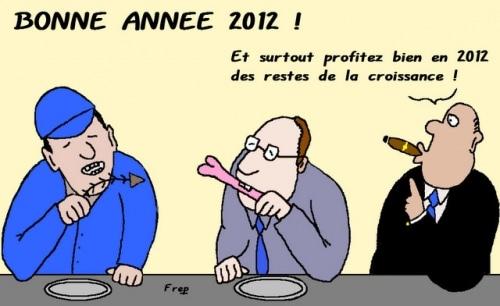 BONNE  ANNÉE  2012    MALGRÉ   TOUT !