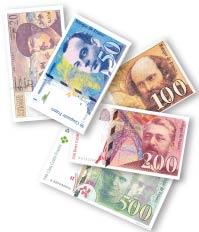 C'est bientôt la fin des francs !