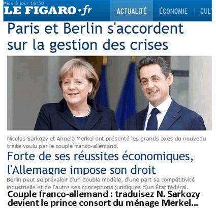 Eurozone : Sarkozy, le petit prince qu'on sort