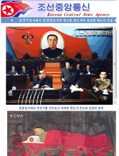 Corée du Nord : des pies et des poissons pour Noël