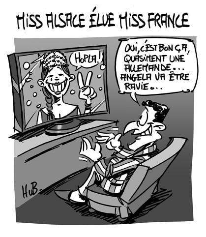 Miss Alsace devient Miss France