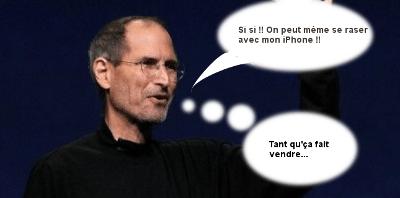 Mr Apple t'as fait quoi à tes vis ???