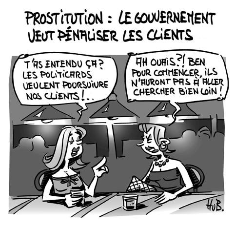 Prostitution : vers une pénalisation des clients