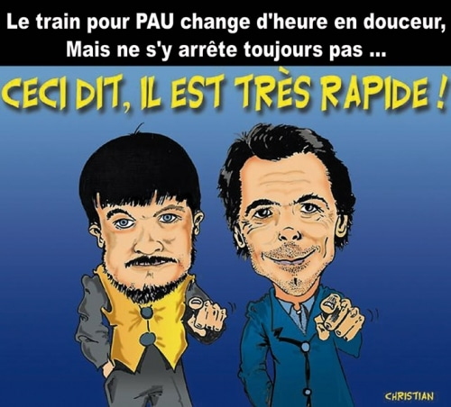 Nouveaux horaires à la SNCF … Peu de dysfonctionnements, sauf peut-être à PAU !!!!