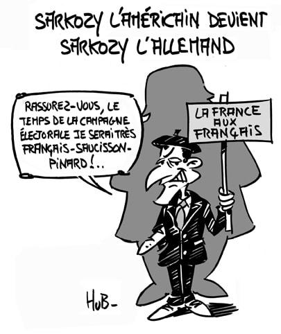 Sarkozy l'américain devient Sarkozy l'allemand
