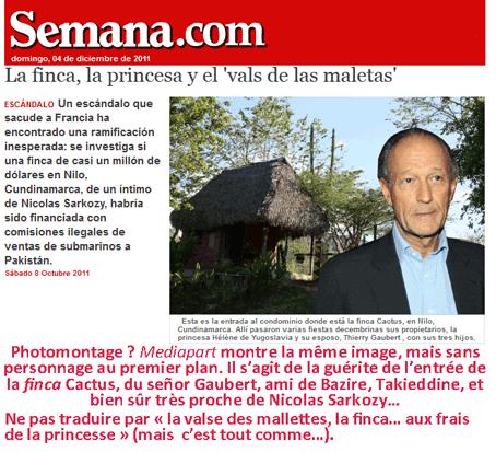Les mamelles de la Sarkozye en Colombie (suite)