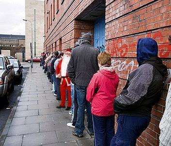 Le père Noël et les restrictions budgetaires