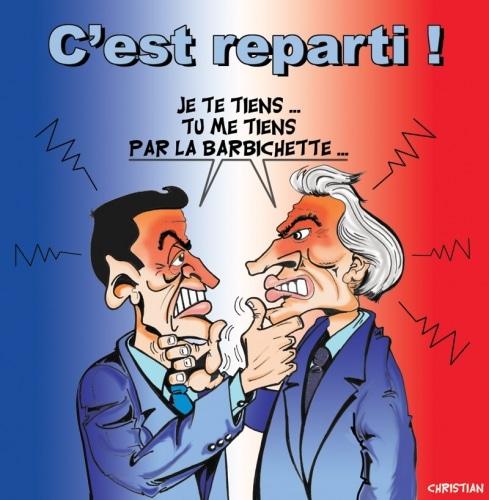 Dominique François René Galouzeau de VILLEPIN est candidat !