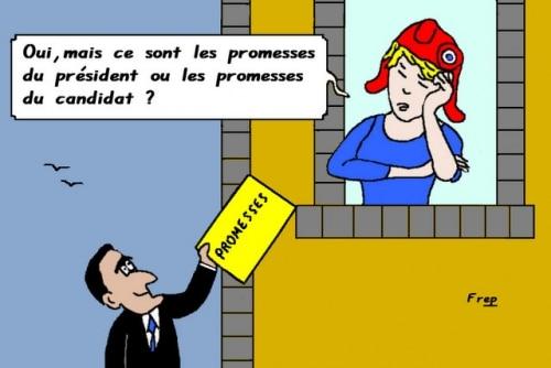 Les   belles    promesses . .