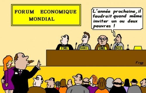 Davos ,  un  forum  pour  les riches  ?