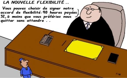 La  nouvelle  flexibilité . .