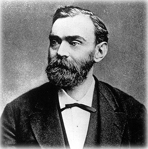 Le célèbre Alfred Nobel