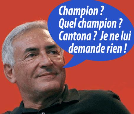 DSK : plainte contre le Champion (et VSD)