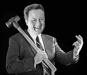 David Cameron, le Thatcher masculin
