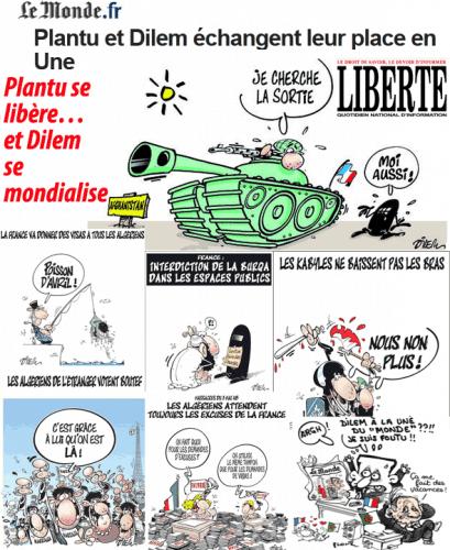 Cruel Dilem pour Sarkozy, Plantu prend sa Liberté…