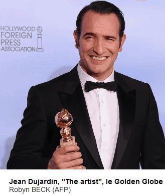 Trois Golden Globe pour The Artist (et donc Dujardin)