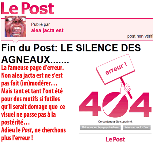 « Le » Huffington Post, c'est lundi 23 janvier 2011