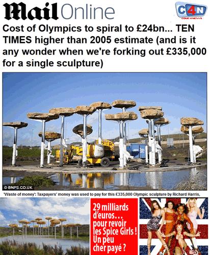 J.-0. de Londres : budget explosé