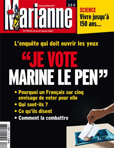 La « gôche » qui vote pour la Marine…